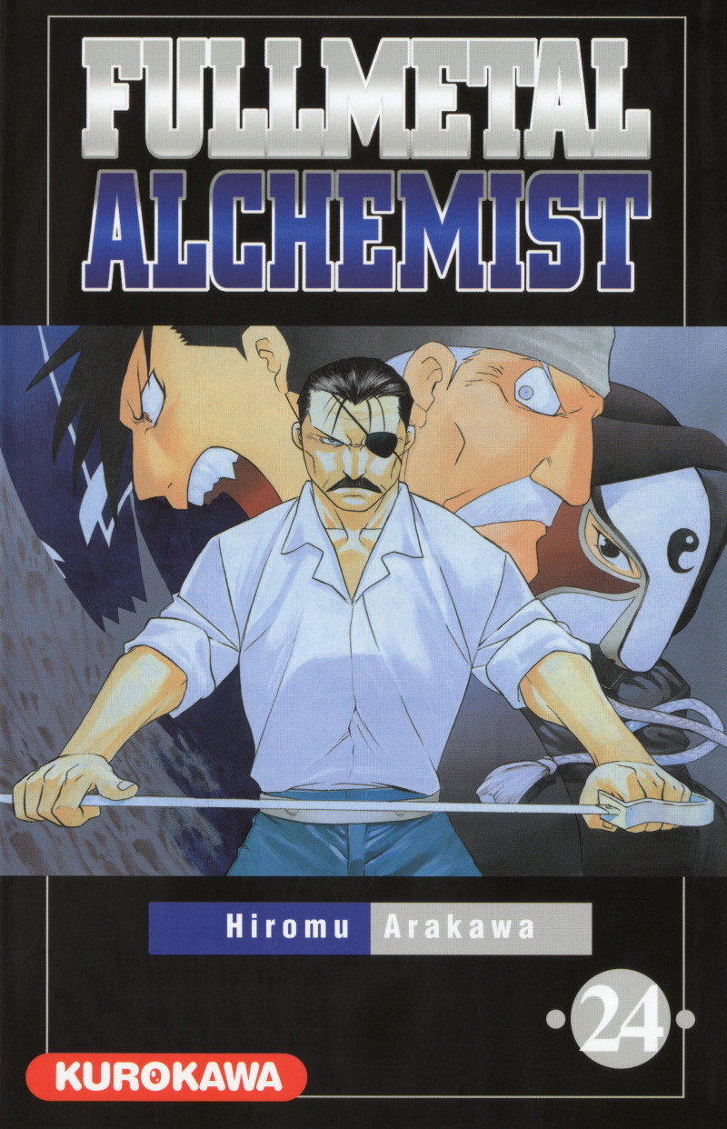 Couverture de FullMetal Alchemist -24- Tome 24