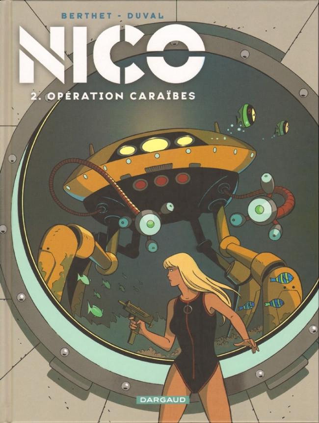 Couverture de Nico -2- Opération Caraïbes