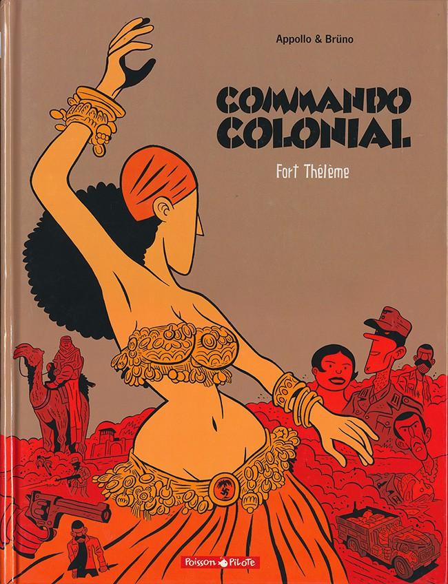 Couverture de Commando colonial -3- Fort Thélème