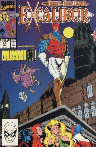 Couverture de Excalibur (1988) -21- Crusader x