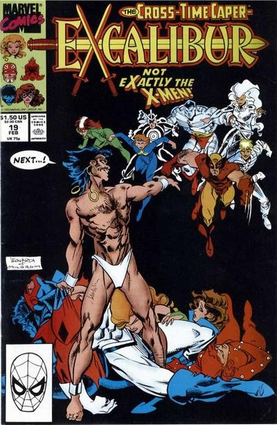 Couverture de Excalibur (1988) -19- Madripoor knights