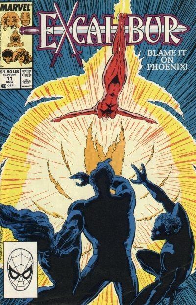 Couverture de Excalibur (1988) -11- Blame it on Phoenix!
