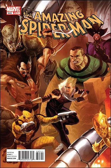 Couverture de Amazing Spider-Man (The) Vol.2 (Marvel comics - 1999) -643- Origin of the species part 2