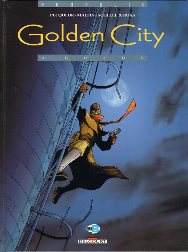 Couverture de Golden City -4- Goldy