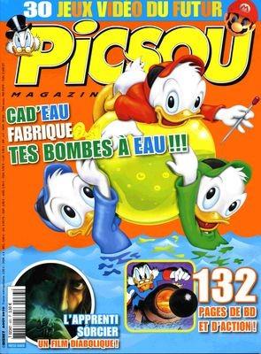 Couverture de Picsou Magazine -463- Picsou magazine n°463