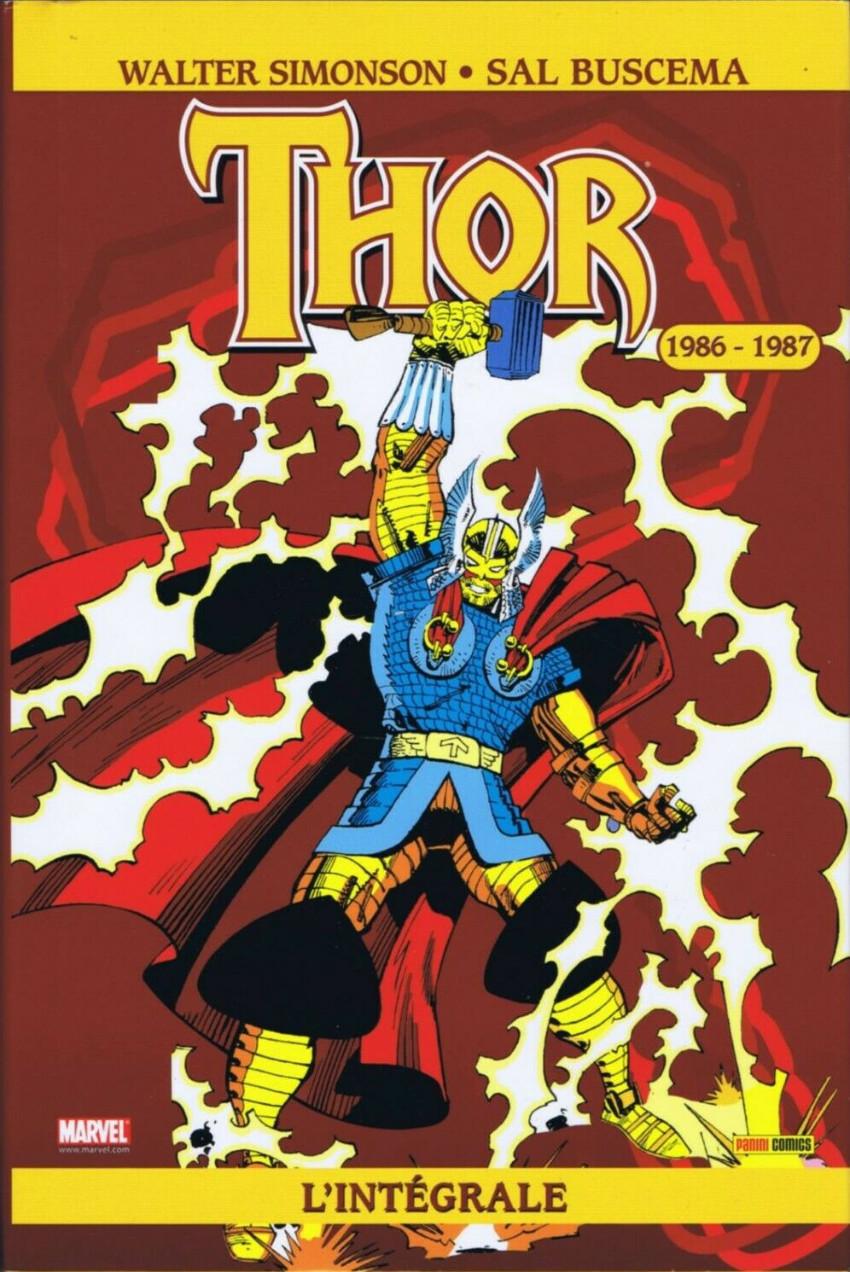 Couverture de Thor (L'intégrale) -4- Intégrale 1986 - 1987