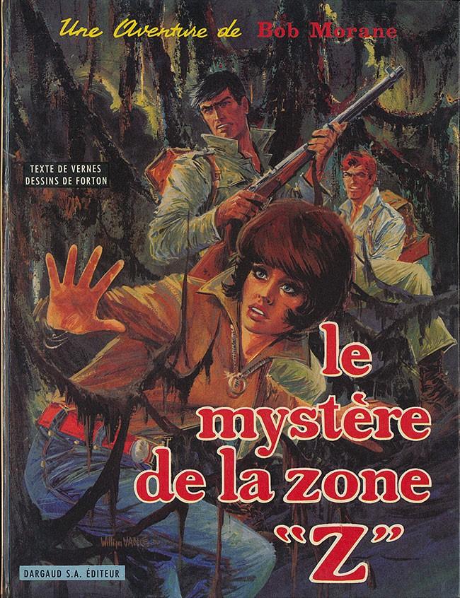 Couverture de Bob Morane 2 (Dargaud) -6- Le mystère de la zone