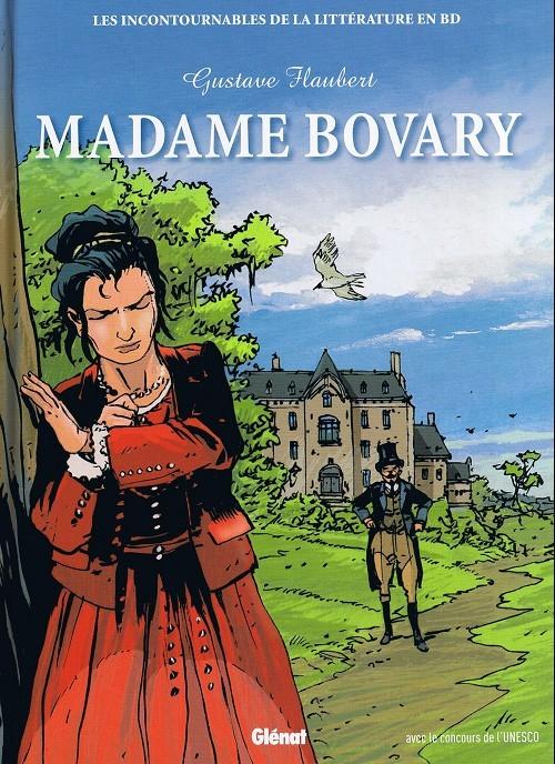 Couverture de Les incontournables de la littérature en BD -29- Madame Bovary