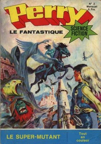 Couverture de Perry le fantastique -2- Le super-mutant