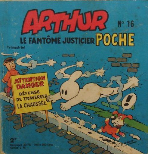 Couverture de Arthur le fantôme (Poche) -16- Poche n°16