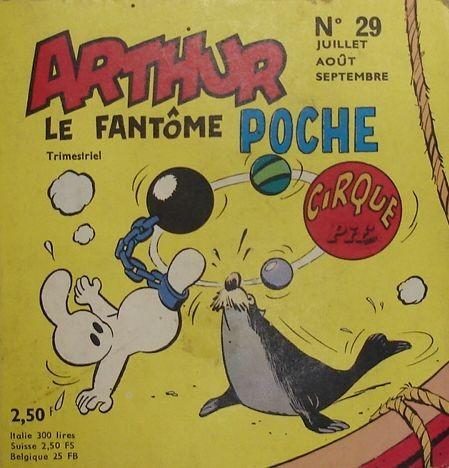 Couverture de Arthur le fantôme (Poche) -29- Poche n°29