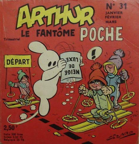 Couverture de Arthur le fantôme (Poche) -31- Poche n°31