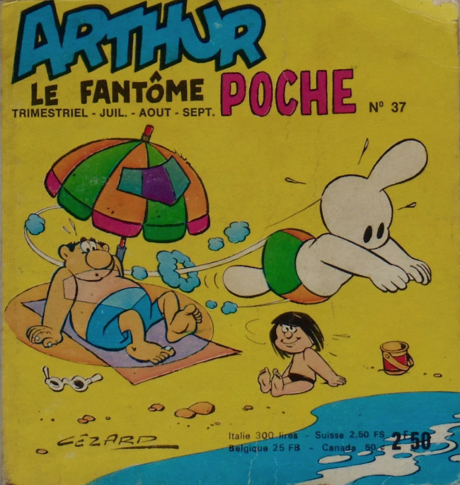 Couverture de Arthur le fantôme (Poche) -37- Poche n°37