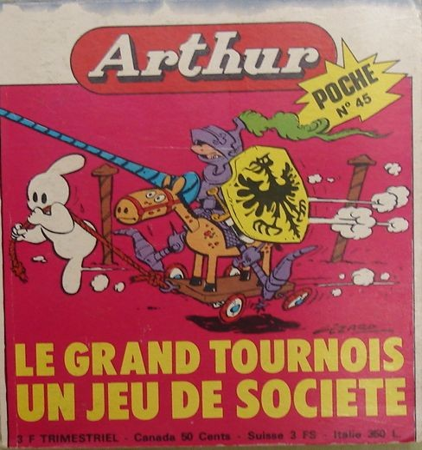 Couverture de Arthur le fantôme (Poche) -45- Poche n°45