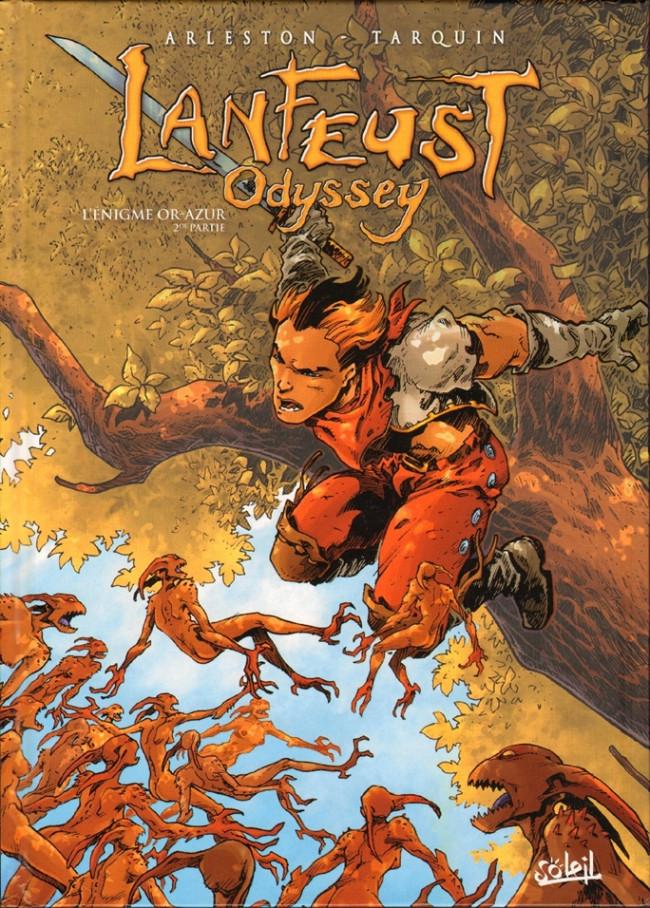 Couverture de Lanfeust Odyssey -2- L'énigme Or-Azur - 2de partie