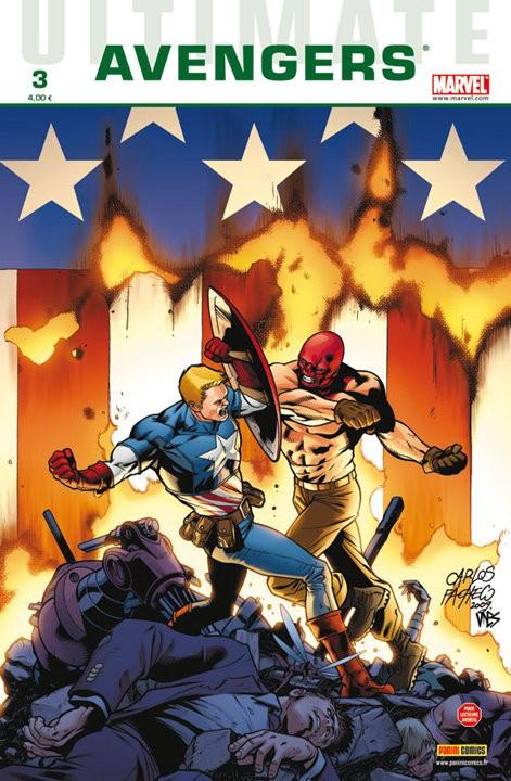 Couverture de Ultimate Avengers -3- La jeune génération