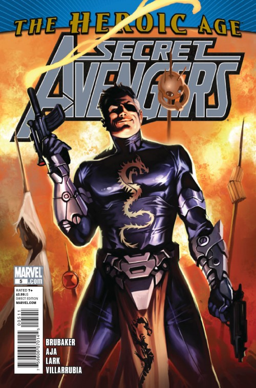 Couverture de Secret Avengers (2010) -5- The secret life of Max Fury