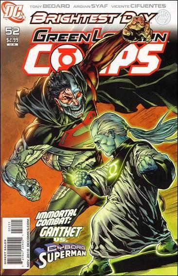 Couverture de Green Lantern Corps (2006) -52- Revolt of the alpha-lanterns part 5