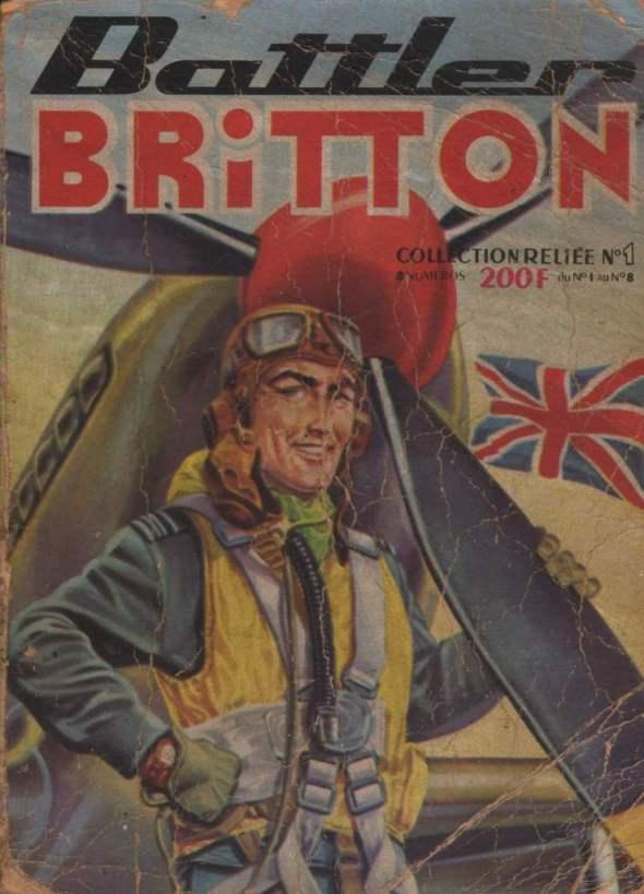 Couverture de Battler Britton (Imperia) -Rec01- Collection Reliée N°1 (du n°1 au n°8)