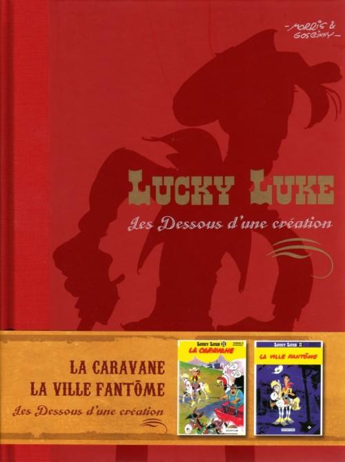 Couverture de Lucky Luke - Les Dessous d'une création (Atlas) -13- La caravane / La ville fantôme