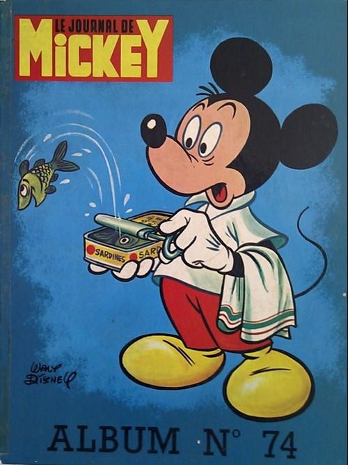 Couverture de (Recueil) Mickey (Le Journal de) (1952) -74- Album n°74 (n°1293 à 1303)