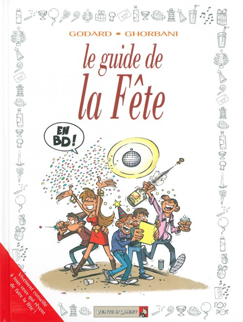 Couverture de Le guide -36- Le guide de la fête