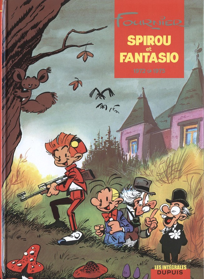 Couverture de Spirou et Fantasio -6- (Int. Dupuis 2) -10- 1972-1975