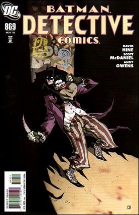 Couverture de Detective Comics (1937) -869- Impostors part 3 : laughter out of dead bellies