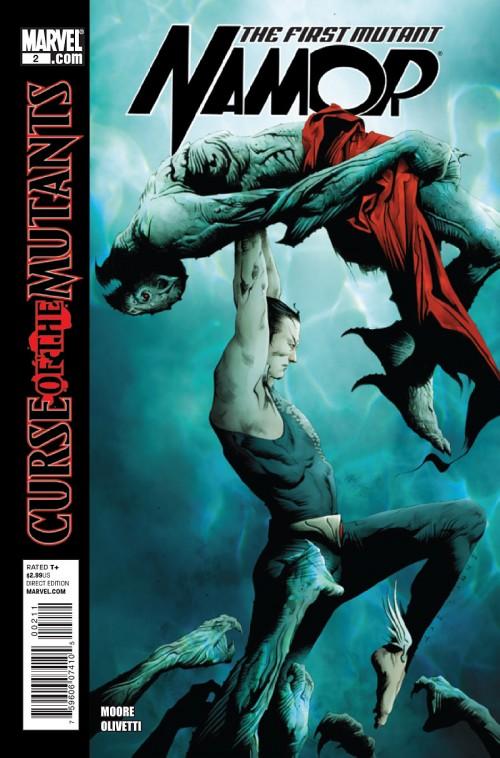 Couverture de Namor: The First Mutant (2010) -2- Royal blood (Part 2)