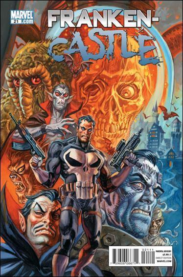 Couverture de Punisher Vol.08 (Marvel comics - 2009) (The) -21- Monster island