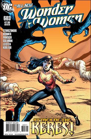 Couverture de Wonder Woman Vol.1 (DC Comics - 1942) -603- The Odyssey part 3 : Keres