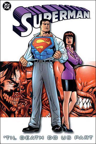 Couverture de Superman (TPB) -INT- Superman: 'till death do us part