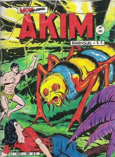 Couverture de Akim (1re série) -585- Intrigues dans les montagnes