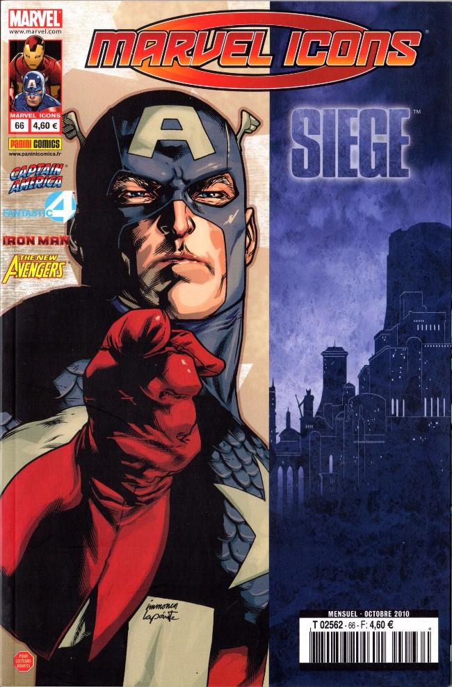 Couverture de Marvel Icons (Marvel France - 2005) -66- Deux par deux