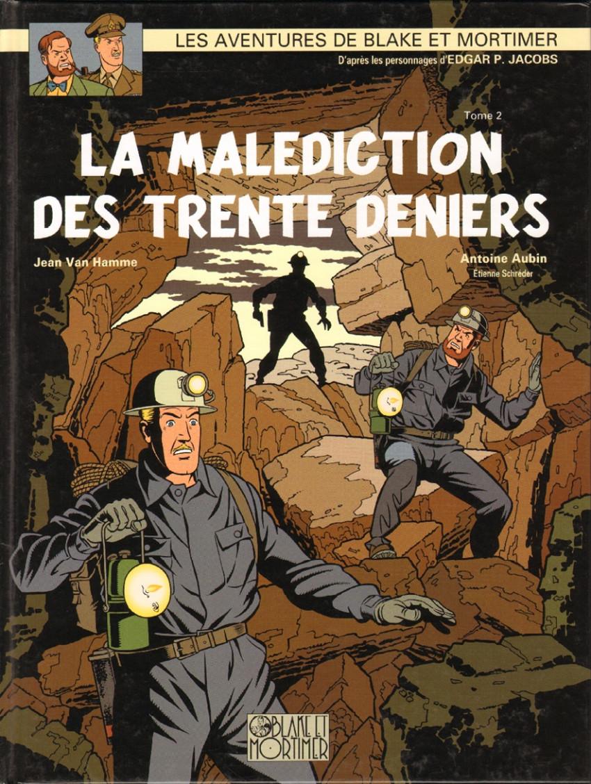 Couverture de Blake et Mortimer -20- La Malédiction des trente deniers - Tome 2