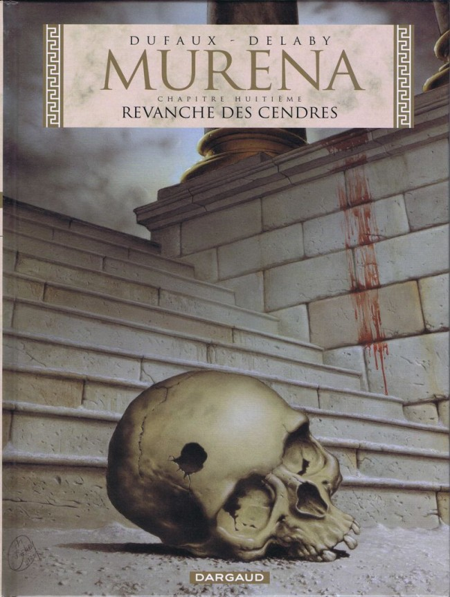Couverture de Murena -8- Revanche des cendres