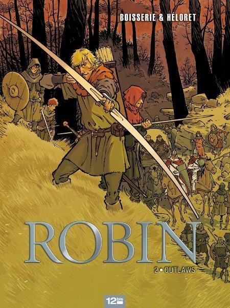 Couverture de Robin (Héloret) -2- Outlaws