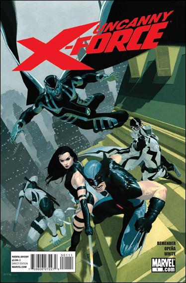 Couverture de Uncanny X-Force (2010) -1- The apocalypse solution