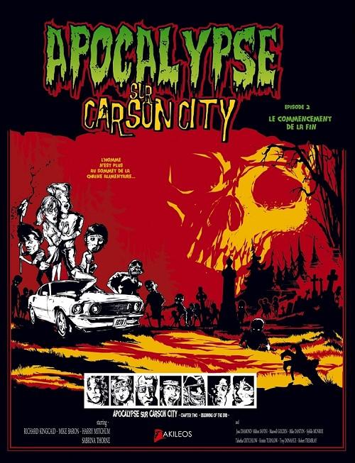 Couverture de Apocalypse sur Carson City -2- Le commencement de la fin