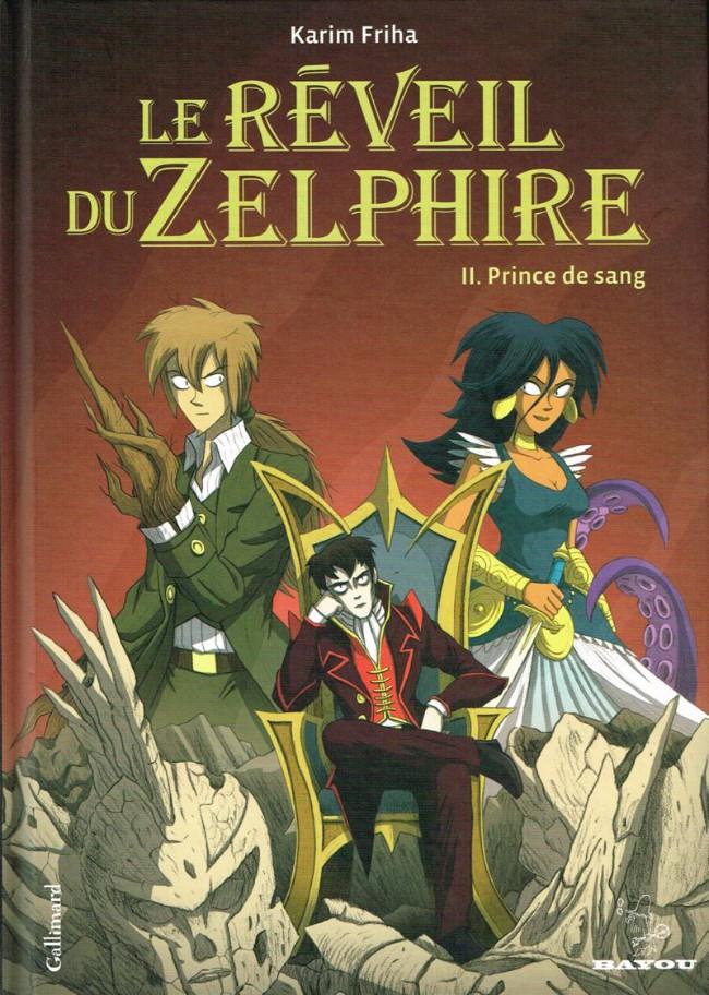 Couverture de Le réveil du Zelphire -2- Prince de sang