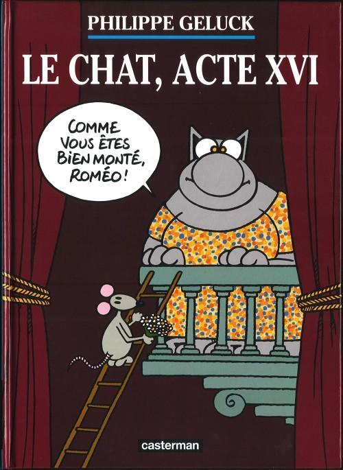 Couverture de Le chat -16- Le chat, acte XVI