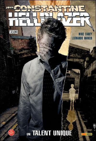 Couverture de Hellblazer (100% Vertigo) -8- John Constantine, Hellblazer - Un talent unique