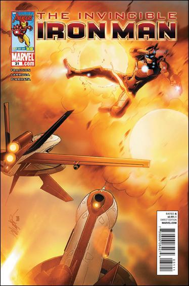Couverture de Invincible Iron Man (2008) -31- Stark resilient part 7 : sabot