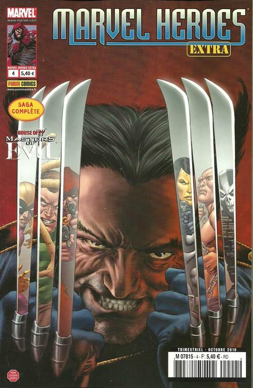 Couverture de Marvel Heroes Extra (Marvel France - 2010) -4- House of M : les maîtres du mal