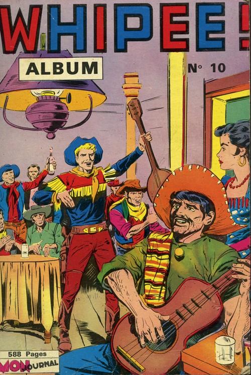 Couverture de Whipii ! (Panter Black, Whipee ! puis) -Rec10- Album N°10 (Whipee ! n°19, En Garde n°6 et Apaches n°18)