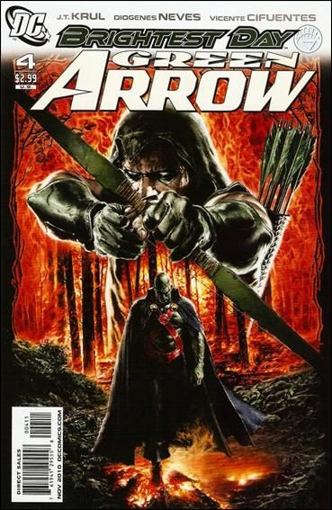Couverture de Green Arrow (2010) -4- Strangers in the night
