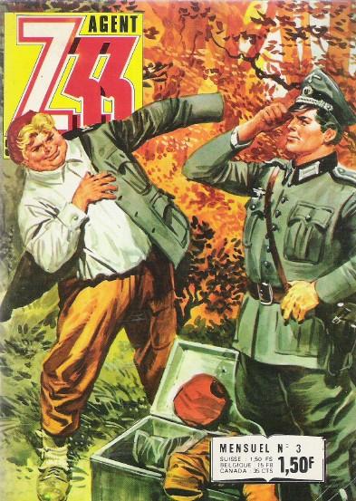 Couverture de Z33 agent secret -3- J'ai doublé Himmler