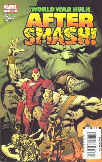 Couverture de World War Hulk: Aftersmash (2008) -1- Aftersmash