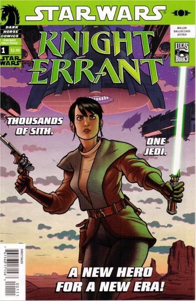 Couverture de Star Wars: Knight Errant (2010) -1- Aflame #1