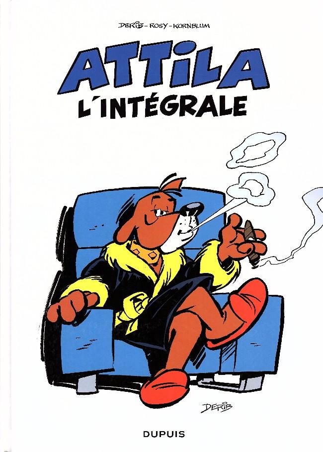 Couverture de Attila (Les aventures d') -INT- L'intégrale